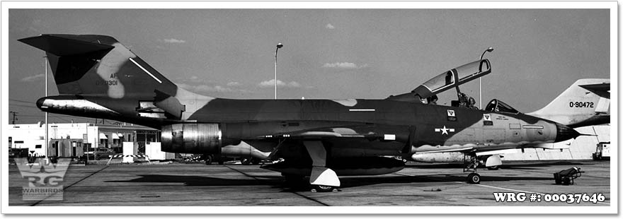 RF-101B Voodoo/57-0301 of the 192nd TRS/Nevada ANG